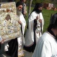 Лития в Карея с чудотворната икона Достойно ест - на Светли понеделник