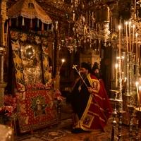 Пред Иверската чудотворна икона. Снимка: I.M. Lagada, Litis and Rentinis