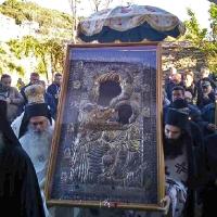 Лития с Иверската чудотворна икона. Снимка: I.M. Lagada, Litis and Rentinis