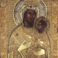 Икона на Пресвета Богородица Олтарница или Ктиторска, манастир Ватопед