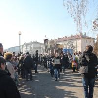 Велик богоявленски водосвет в София и ритуално хвърляне на св. Кръст_10