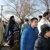 Велик богоявленски водосвет в София и ритуално хвърляне на св. Кръст_2