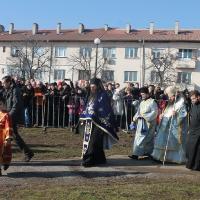 Велик богоявленски водосвет в София и ритуално хвърляне на св. Кръст_5
