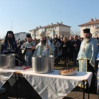 Велик богоявленски водосвет в София и ритуално хвърляне на св. Кръст_7