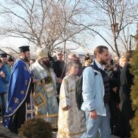 Велик богоявленски водосвет в София и ритуално хвърляне на св. Кръст_9