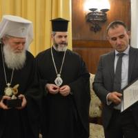 Българската православна църква бе наградена от еврейските общности в Израел по повод спасяването на българските евреи през XX в._6