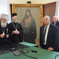 Българската православна църква бе наградена от еврейските общности в Израел по повод спасяването на българските евреи през XX в._8