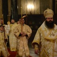 Василиева св. Литургия и молебен за новата 2018 година