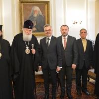 Патриарх Неофит се срещна с полския посланик