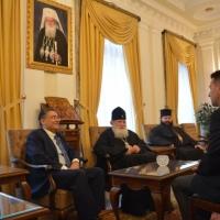 Среща на патриарх Неофит с турския посланик