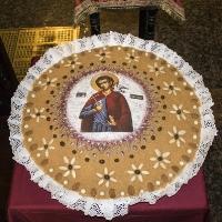 Коливо с образа на св. мчк Неофит