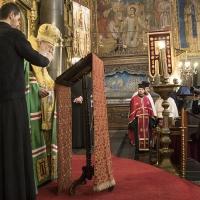 Молебен за именния ден на патриарх Неофит