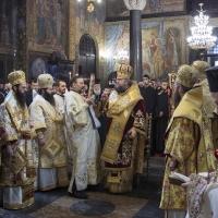 Архиерейска св. Литургия на именния ден на патриарх Неофит