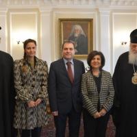 Българският патриарх Неофит се срещна със сирийския посланик у нас