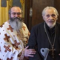 Отец Ангел с отец-професор Николай Шиваров