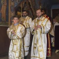 Празнична вечерня в Богословския факултет за деня на св. Три светители