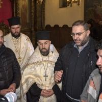 Бдение за Сретение Господне в храм Св. Параскева - част от певците