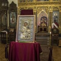 Копие на Иверската икона в храм Св. Параскева