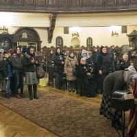 Бдение за Сретение Господне в храм Св. мчца Параскева