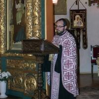 Бдение в храм Св. мчца Параскева - евангелско четиво