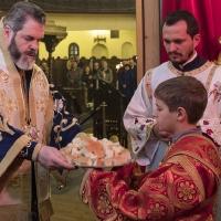 Архиерейска св. Литургия за Сретение Господне в храм Св. Параскева
