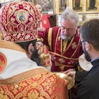 Архиерейска св. Литургия в храм Покров Богородичен