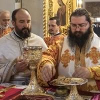 Архиерейска св. Литургия за празника на свщмчк Харалампий