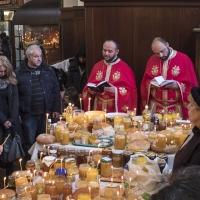 Елеосвещение в храм Покров Богородичен