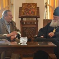 Негово Светейшество патриарх Неофит се срещна с академик Стефан Воденичаров