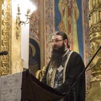 Евангелско четиво с архимандрит Василий