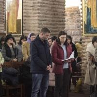 Великият покаен канон в храм Св. София