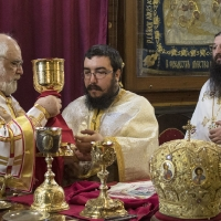 Архиерейска св. Литургия за Тодорова събота