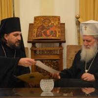 Архимандрит Васиан Змеев и патриарх Неофит