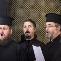 Част от свещеническия хор