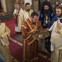 Пострижения в храм Св. София - иподякон Трайче Попов