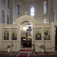 Празнична утреня в храм Св. София
