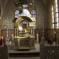 Част от мощите на св. Андрей в Патра