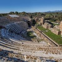 Римският театър в Никополи