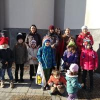Децата в храма