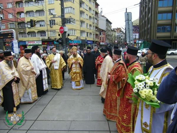 Празникът на св. Евтимий Търновски в София