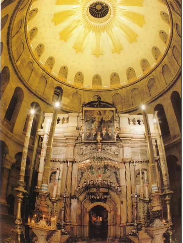 Храм на гроба Господен, Йерусалим. Снимка: Галина Тодорова